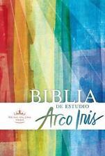 RVR 1960 Biblia de Estudio Arco Iris, Multicolor, Tapa Dura (2015, Hardcover)