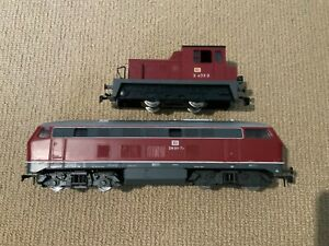 Rivarossi German Railway Fast Diesel Locomotive and Shunting Locomotive