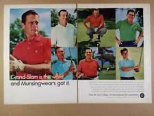 1968 Munsingwear Penguin Golf Shirts pro golfers photos vintage print Ad