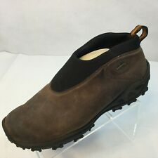 Merrell Icepack Moc Polar Boots Size 11 Waterproof Brown Suede Winter Shoes