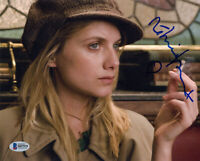 MELANIE LAURENT SIGNED AUTOGRAPHED 8x10 PHOTO INGLOURIOUS BASTERDS BECKETT BAS