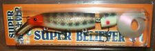 "12"" Super Believer Drifter Tackle Musky Pike Jointed Nine Dollar Bass SB12J-50"