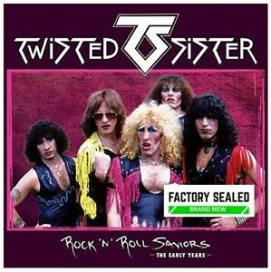 Twisted Sister – Rock 'N' Roll Saviors (The Early Years) 3 x CD Box Set NEW