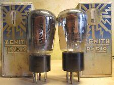 #pair l424 Zenith #telefunken #re084 #re 084 year 1935 NEW NIB Regia Aeronautica