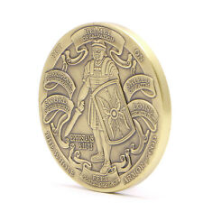 Helmet of Salvation The Whole Armor of God Challenge Commemorative Coin Token