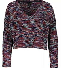 Ex Chainstore Chenille Jumpers Sweaters Black or Aubergine 6,8,10,12,14,16,18,20