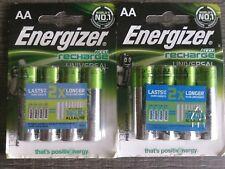 8 recargables ENERGIZER AA 1300mAh