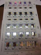 Finnland 1175+1176+1177 je KleinBogen postfrisch MNH Hologramm Technologie 1992