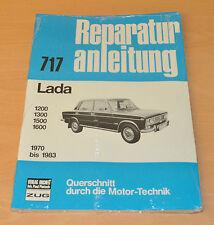 LADA 1200 1300 1500 1600 Handbuch 1970 bis 1983 NEU OVP Reparaturanleitung B717