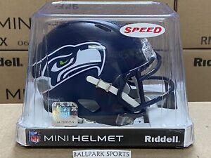 Seattle Seahawks - Riddell NFL Speed Mini Football Helmet