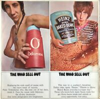 THE WHO SELL OUT LP TRACK UK MONO 1967 WITH POSTER 1ST PRESS NR EXC PRO CLEANED