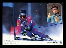 Josef Polig Autogrammkarte Original Signiert Ski Alpine+ A 162789