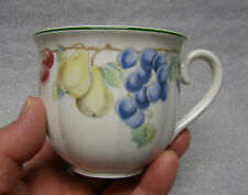 2 Villeroy and Boch China Melina Pattern Flat Cups or Mug
