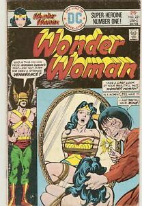 WONDER WOMAN # 221