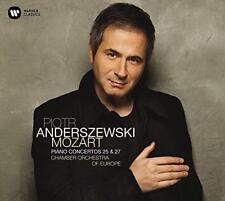 Piotr Anderszewski - Mozart: Piano Concertos Nos. 25 & 27 (NEW CD)