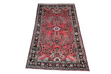 Fein Handgeknüpfter Perser Orientteppich Malayer Hamedan Old Carpet 160x80cm