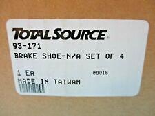 New listing New Box Of 4 Total Source 93-171 Forklift Brake Shoe Kit