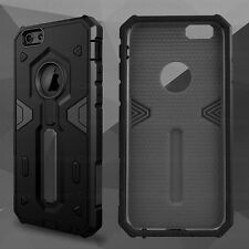 Luxury Ultra-thin Shockproof Armor Back Case Cover for Apple iPhone 5 6s 6 Plus iPhone 4 / 4s Gun Metal