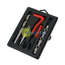 25 Pezzo HELICOIL FILETTATURA Riparazione Kit M8 x 1,25 x 10,8 mm Garage Officina Strumento Set