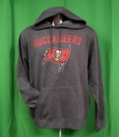 Majestic NFL Mens Tampa Bay Buccaneers Football Pullover Hoodie NWT S, XL
