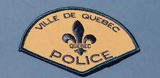 Ville De Quebec Police Patch