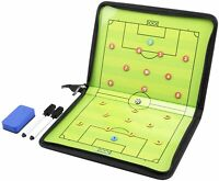 AGPTEK Football/Soccer Magnetic Coaching Board Winning Strategy Board Dry Erase