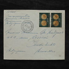ZS-X263 BELGIAN CONGO - Coins, 1955, Great Franking To Belgium Cover
