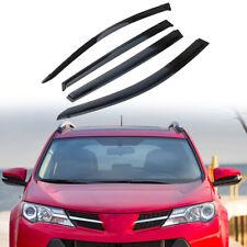 4pcs/set Window Visor Rain Guard Fit For Toyota Rav4 2013-2018