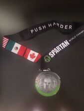 Rare New 2018 Spartan Race Beast Medal Special Limited Edition Unique Collector