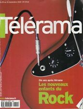 telerama n°2704 nirvana kurt cobain merce cunningham dutronc francois cheng 2001