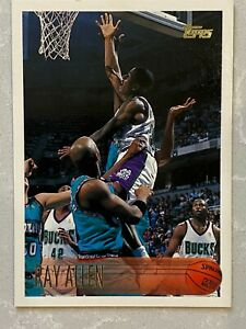 1996-97 Topps Ray Allen Rookie Card (RC) #217