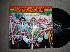 LOS INCAS DANZA DEL INCA RARE ORIG LP 1970 EXC