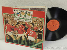 BRITISH LIONS SILVER JUBILEE 1977 TOUR RECORD Rugby UK LP Circle Sports SCR 1001
