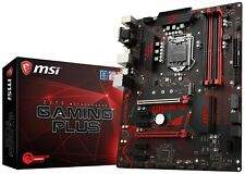 MSI Z370 GAMING PLUS Desktop Motherboard - Intel Chipset - Socket H4 LGA-1151