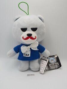 "Krunk Bear Bigbang B0402 Furyu Plush 7"" TAG Stuffed Toy Doll Japan"