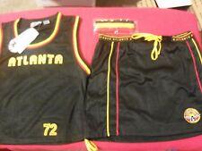 NEW $74 GIRL/WOMEN'S ATLANTA HAWKS NBA CHEERLEADER COSTUME UNIFORM PLUS SIZE 2XL