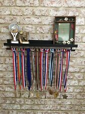 🏆Medal Hanger & Trophy Display  Shelf Gymnastics🏅Football🏅Rugby🏅Cricket🏆