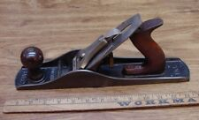 """Old Used Tools,Stanley Bailey No.5 Plane,2-1/2"""" X 14"""",2"""" X 7-1/2 Blade,Excellent"""