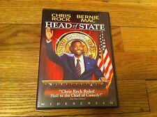 HEAD OF STATE DVD Bernie Mac CHRIS ROCK Robin Givens MOVIE Lynn Whitfield Comedy