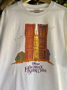 Vintage Rare Disney Hunchback of notre dame Single Stitch T shirt XL Film movie