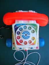 1961 #747- Fisher Price Toy Telephone -Everything Works
