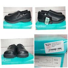 Cherokee Slip Resistant Men's Jackson Style Step Footwear Black
