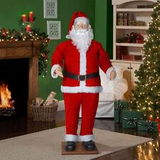 CHRISTMAS SANTA ANIMATED LIFE SIZE SPANISH ENGLISH SPEAKING MP3 SINGS & DANCES