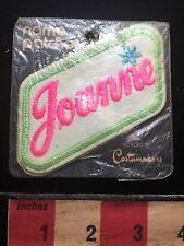 First Name PINK Letter JOANNE Vintage Uniform Name Patch In As-Is Package 71DD