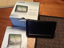 """GARMIN NUVI 1490t 5"""" GPS  -- CONSOLE ONLY with Box"""