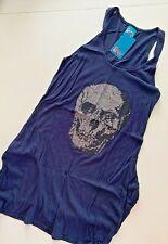 Siren - Dita Iron on Skull Vest