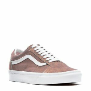 VANS OLD SKOOL LEATHER LO UNISEX MEN SIZE 5 = WOMEN SIZE 6.5 SHOES ROSE GOLD NEW