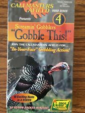 """Callmasters Afield Presents Screamin Gobblers """"Gobble this !� 4"""