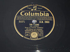 """STEVE CONWAY White Wedding / Too Young UK 10"""" Columbia D.B. 2903 Norrie Paramor"""