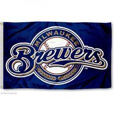 Milwaukee Brewers flag New Banner Indoor Outdoor 3x5 feet US seller Great gift